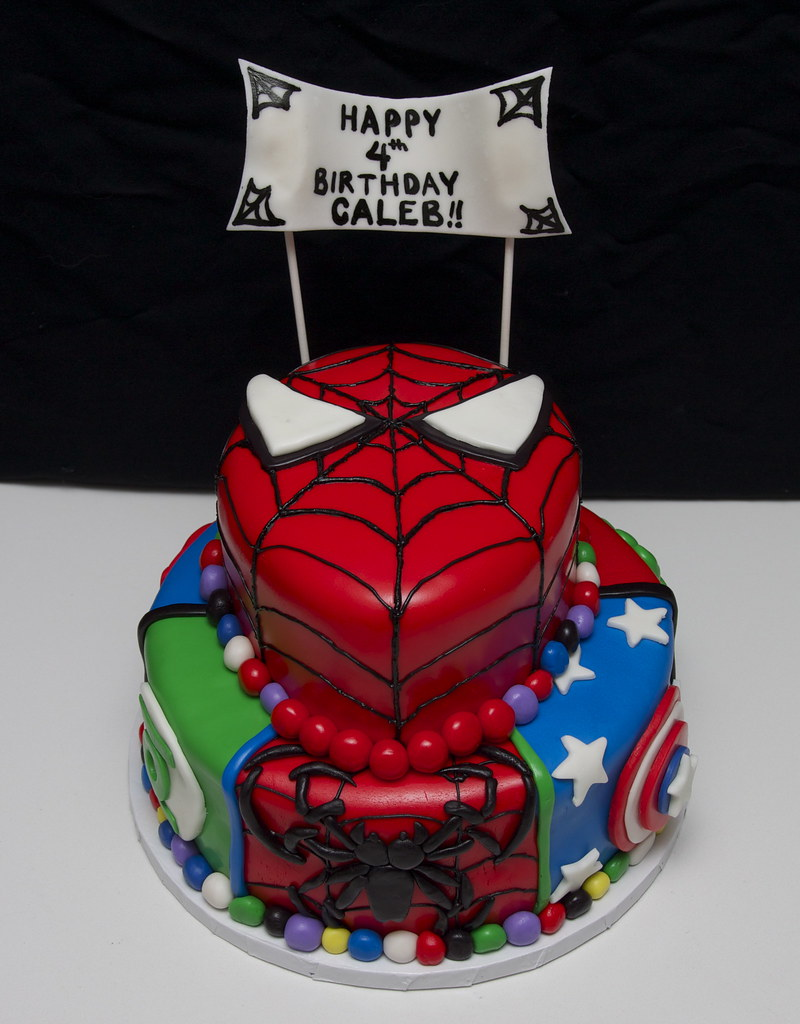 Marvel Heroes Cake Designs