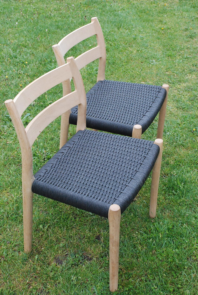 Plastic Design Stoelen.07 Deens Design Danish Design Oak Chairs Made By N O M Flickr