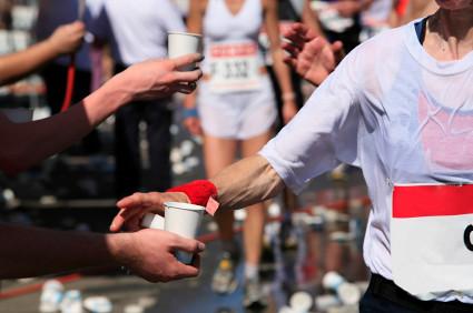 La importancia de la hidratación para un maratonista, experiencia en Boston 2012