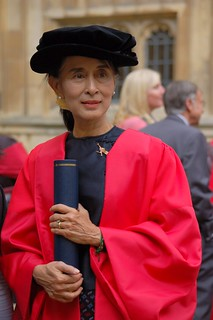Aung San Suu Kyi in Oxford | by May_at_Worcester
