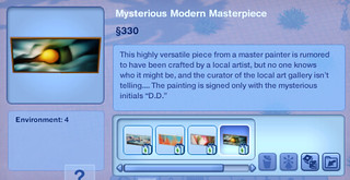 Mysterious Modern Masterpiece 4 | by SimsVIP