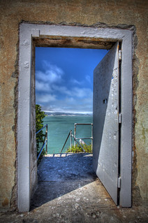 """...another door opens."" (Alcatraz) 
