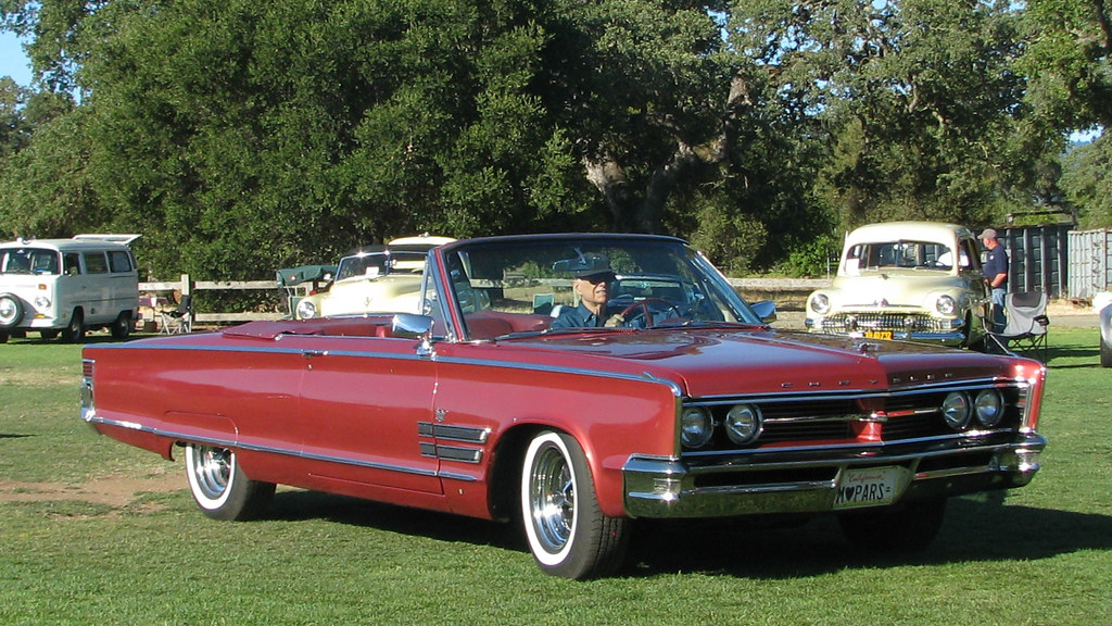 Chrysler >> 1966 Chrysler 300 Convertible 1 | Photographed at the 2012 P… | Flickr