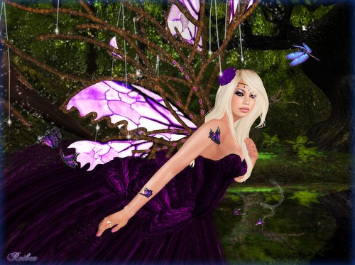 Amethyst Fae | by Roiben Sweetwater