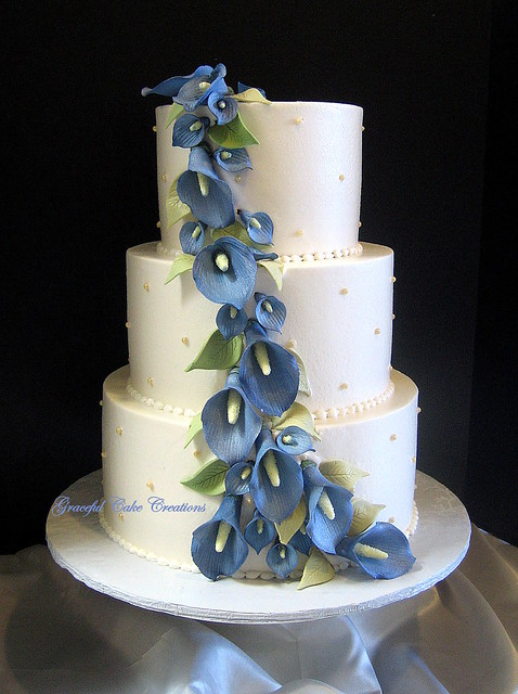 Geode Wedding Cake Utah Logan