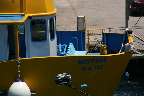 yellow boat | by Massimiliano Cremonese
