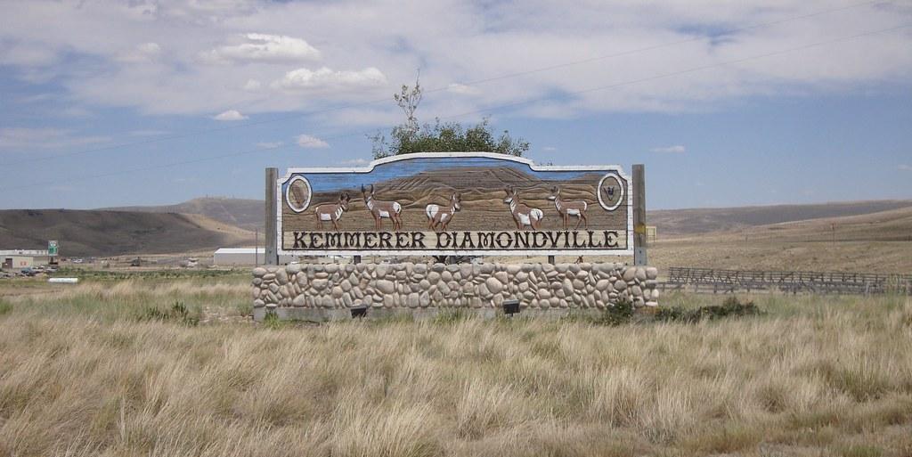 Kemmerer Diamondville Sign Kemmerer Wyoming Kemmerer