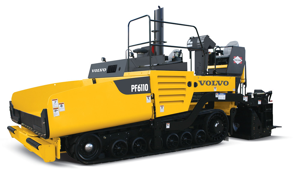 Volvo PF6110 Asphalt Paver in studio | From our new highway-… | Flickr