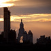 Smoke Stacks & Con Edison Clock Tower at Sunset - NYC
