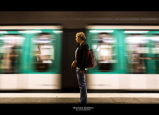 Waiting Subway | by Guillaume Chanson