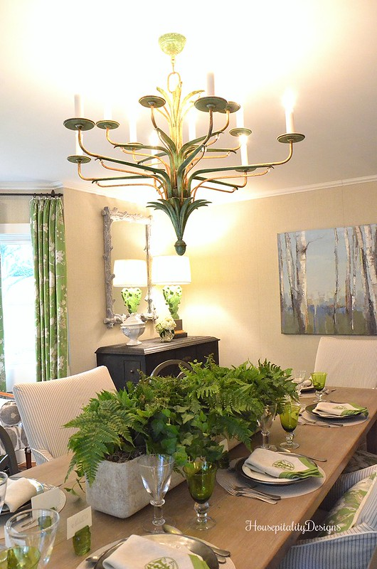 Cashiers Showhouse/Dining Room - Housepitality Designs