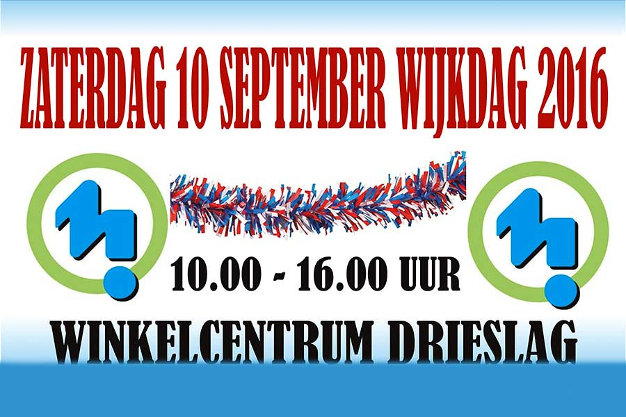 10 September – Wijkdag Malburgen