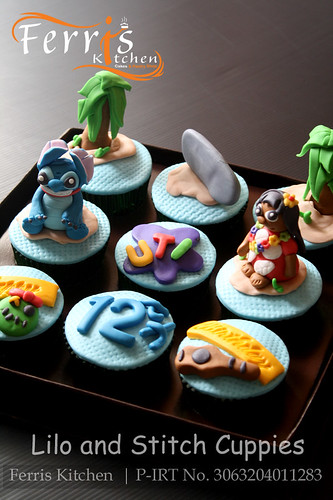 Lilo and Stitch Cupcakes by Ferris Kitchen | by Ferris Kitchen