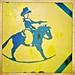 Rocking Horse Cowboy Sign