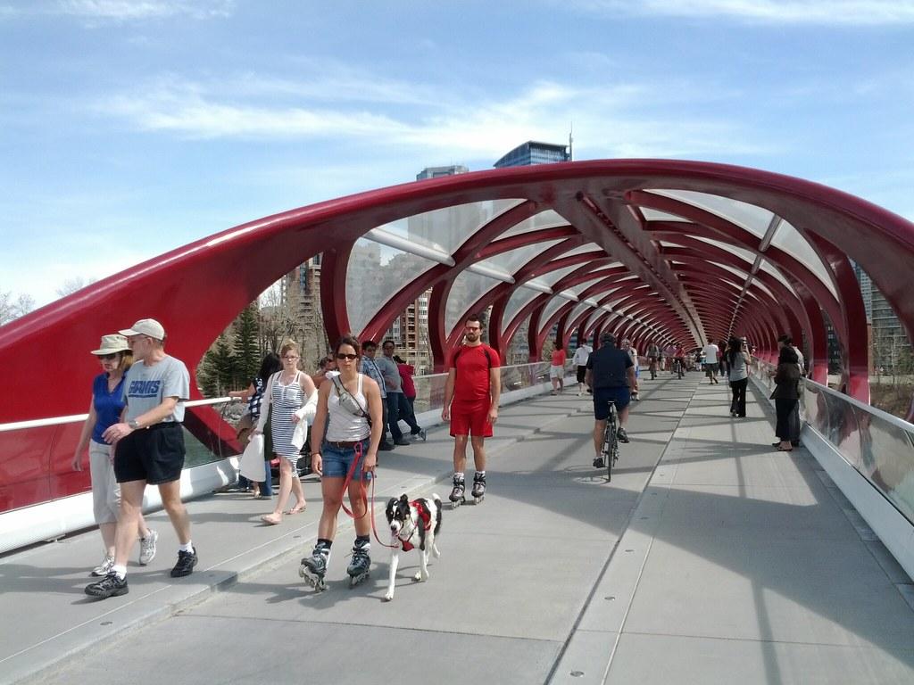 Calgary Peace Bridge b...