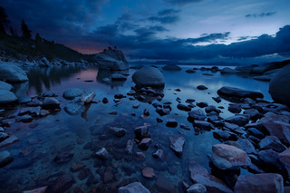 Late twilight bonsai rocks | by kern.justin
