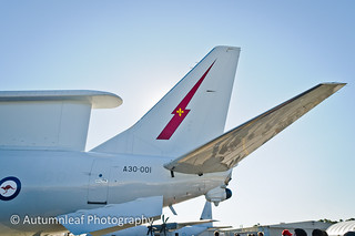 RAAF Boeing 737 AEW&C Wedgetail - Insignia on the tail | by autumn_leaf