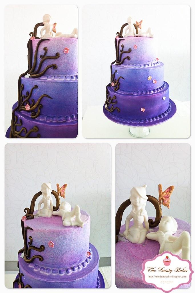 Ombre Fantas... Ombre Cake