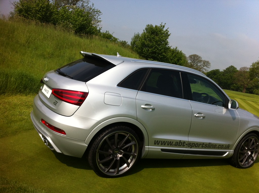 audi q3 abt rear the abt body kit for the q3 allows you. Black Bedroom Furniture Sets. Home Design Ideas