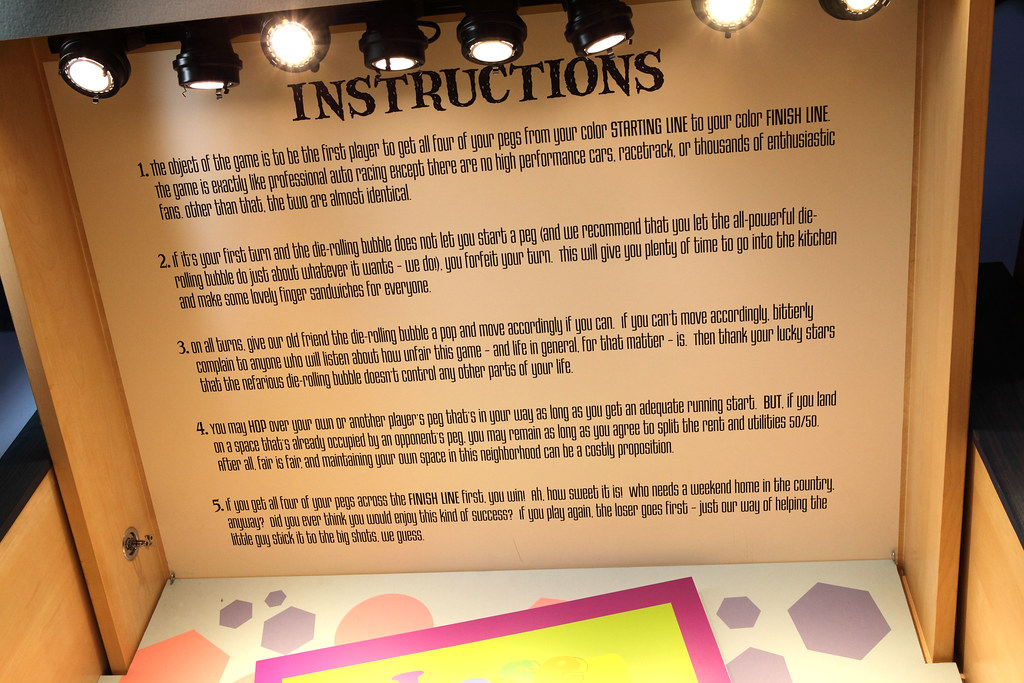 Game Instructions Instructions For A Fictional Game Found Flickr
