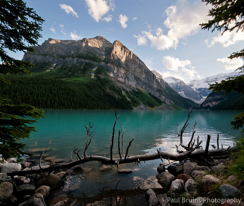 Lake Louise Framed | by Panorama Paul