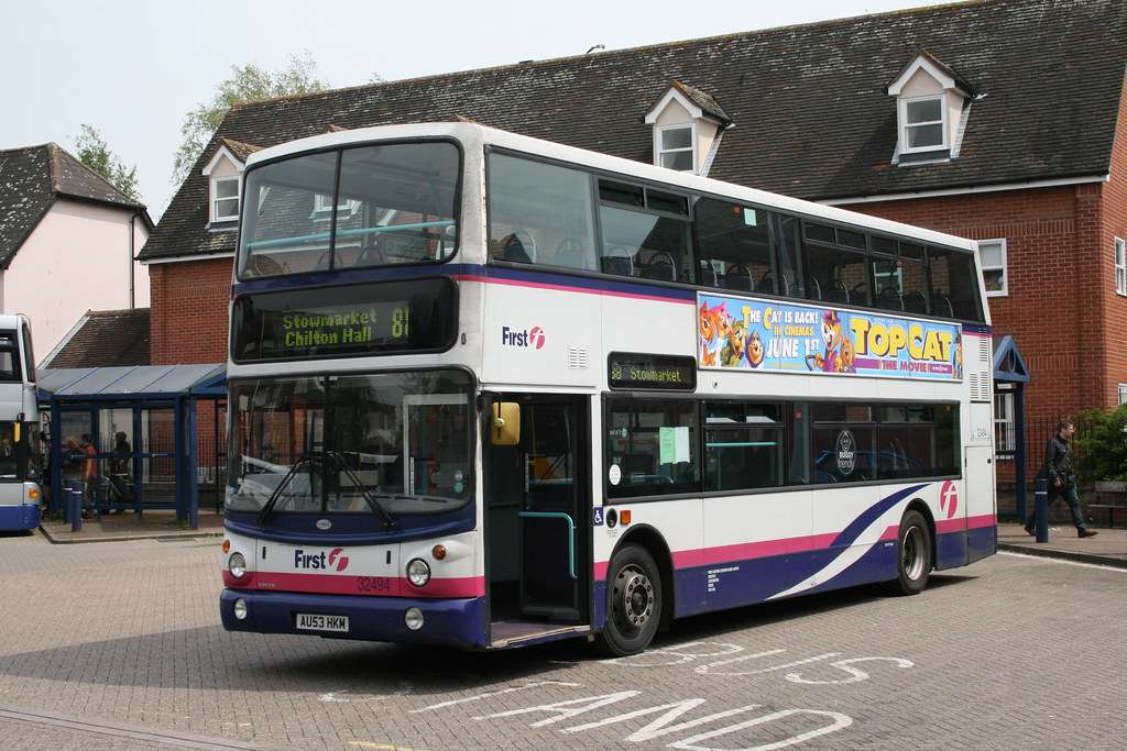 First Eastern Counties Volvo B7tl Transbus Alx400 32494