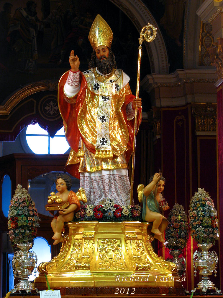 Saint Nicholas Pictures >> Saint Nicholas   The statue of Saint Nicholas in the parish …   Flickr
