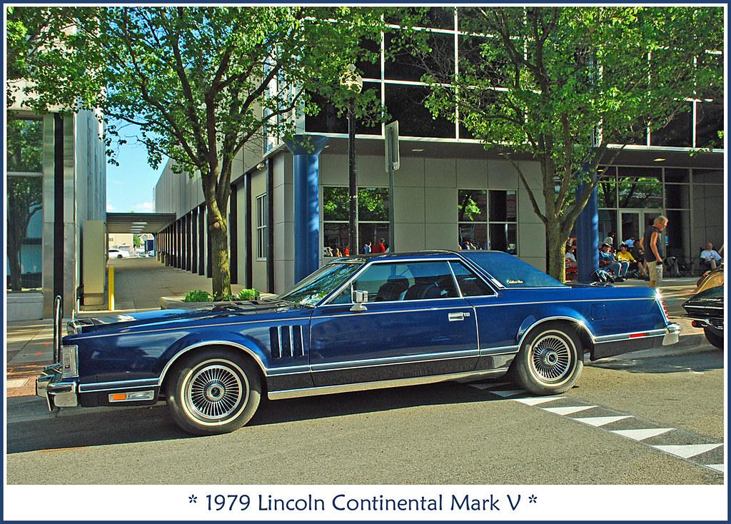1979 lincoln continental mark v the june 22 2012