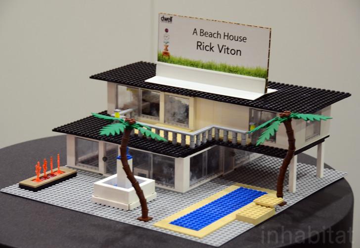 Lego Beach House Rick Viton Inhabitat Flickr
