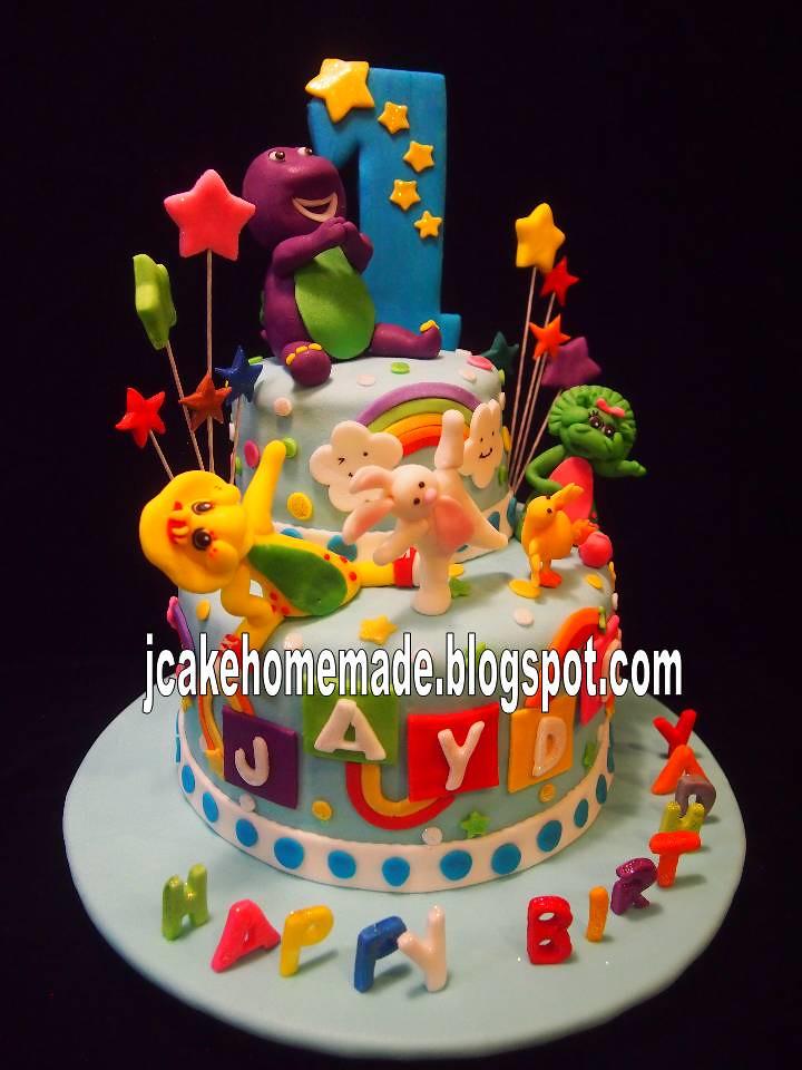barney cake - photo #29