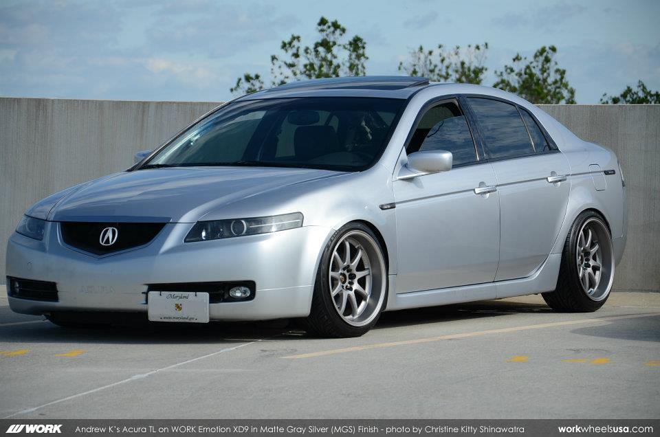 Matte White Acura Tl >> Andrew K's Acura TL on WORK Emotion XD9 (MGS) | Andrew K's A… | Flickr