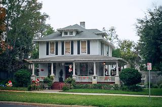 House decorated for christmas riverside jacksonville fl flickr for Martin home exteriors jacksonville fl