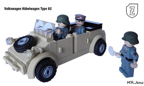 Volkswagen Kübelwagen WWII LEGO   The Volkswagen Kübelwagen …   Flickr