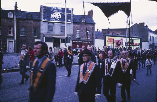 Orange March Albertbridge Road, East Belfast 1973 | by Cold War Warrior Follow Me on Ipernity