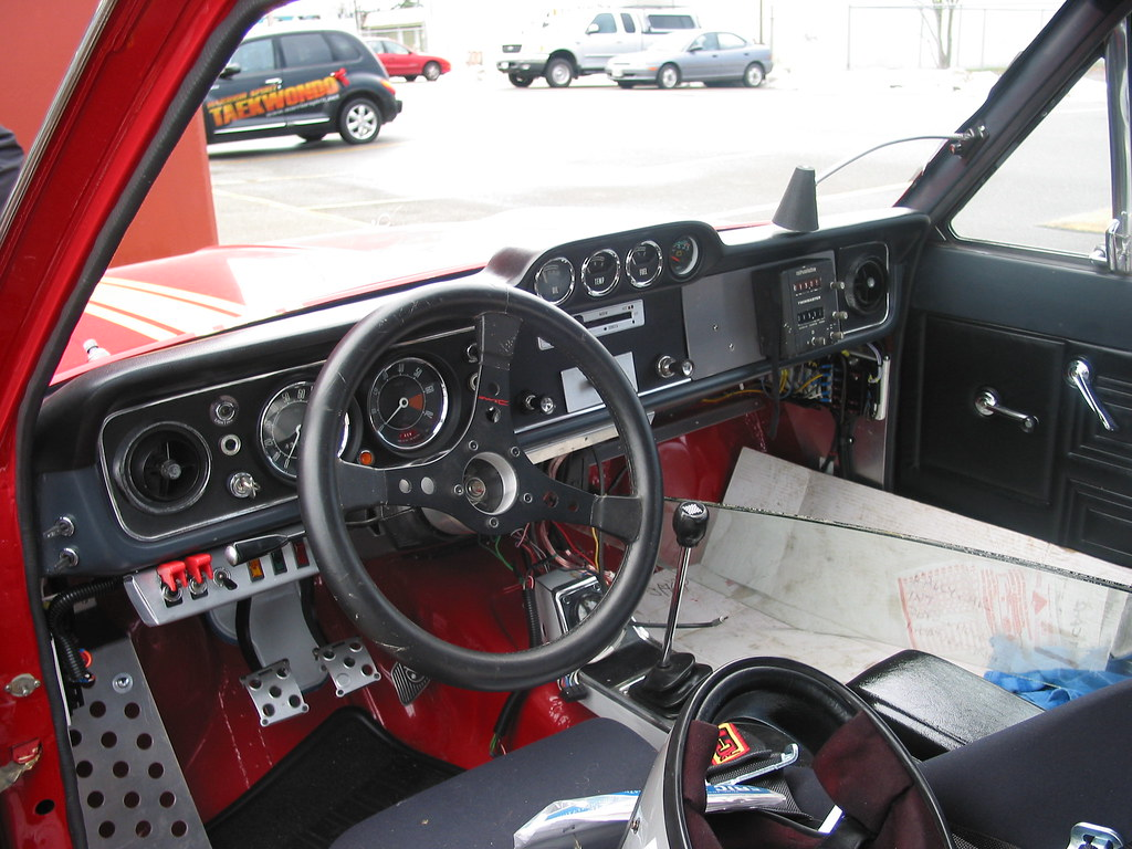1968 ford cortina gt rally car interior partially complet flickr