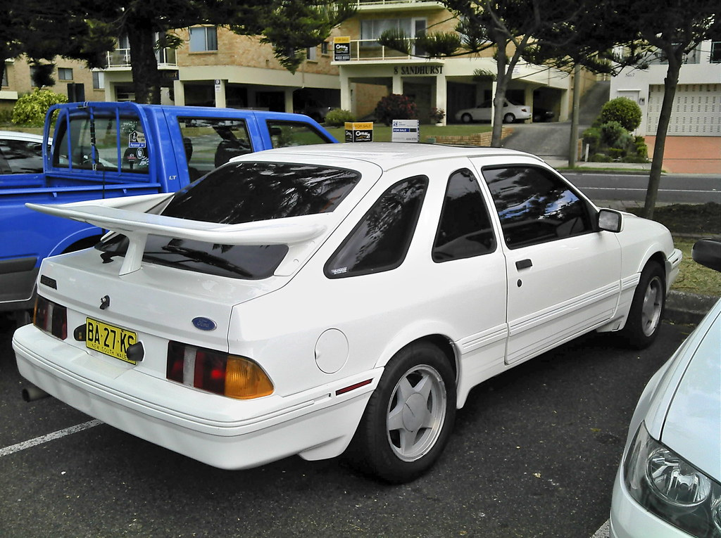 1983 ford sierra xr4i you dont see many of these in austra flickr. Black Bedroom Furniture Sets. Home Design Ideas