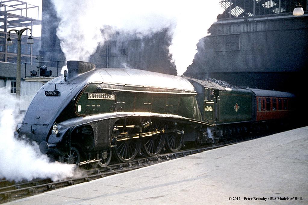 C 02 1963 Kings Cross London Gresley Lner Class A4 4