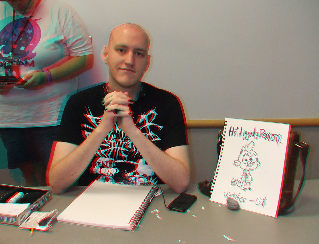 max gilardi 3d trotcon 2012 columbus ohio use some red