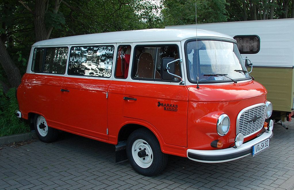 three cylinder 2 stroke engined barkas b1000 kleinbus fra flickr. Black Bedroom Furniture Sets. Home Design Ideas