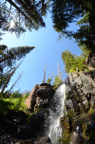 Waterfall on the way to Windy Pass | by bigsky.resort