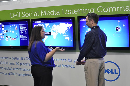 Dell Social Media Listening Command Center at the PGA 3M Championship | by Dell's Official Flickr Page