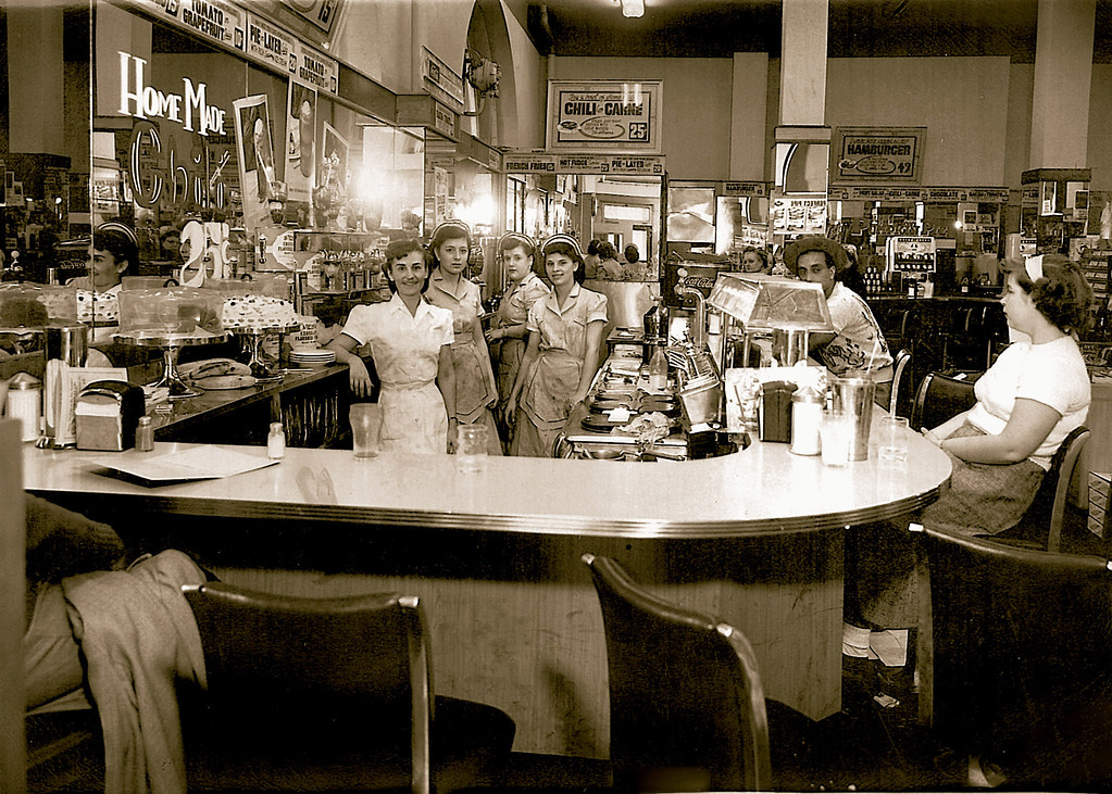 Gentil ... Ford Hopkins Drug Store In The Oliver Hotel   South Bend, Indiana | By  The