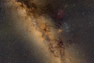 Scorpius - region with the Milky Way Center | by yuriy.toropin