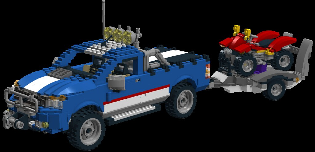 ford ranger offroad power lego nr 5893 overhauled flickr. Black Bedroom Furniture Sets. Home Design Ideas