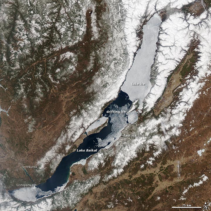 Ice Melting on Lake Baikal | To download the full ...