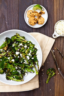 Grilled Broccoli with Chipotle-Lime Butter | by TheBrewer&TheBaker