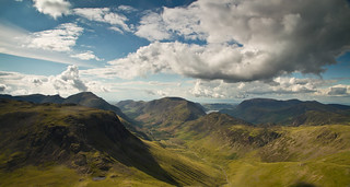 Looking Northeast from Great Gable | by P.A.B.