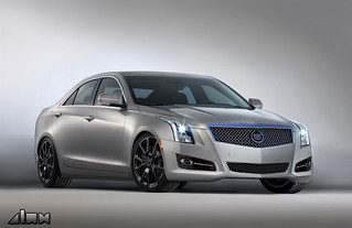 2013 Cadillac ATS compact luxury sedan | by Car Fanatics