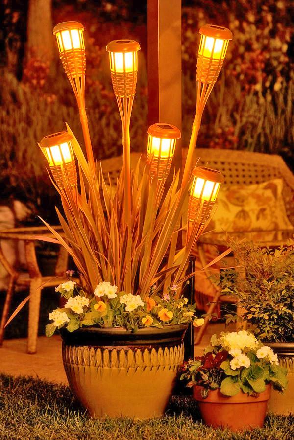 Tiki Torch Planter Zomoc Com Flickr
