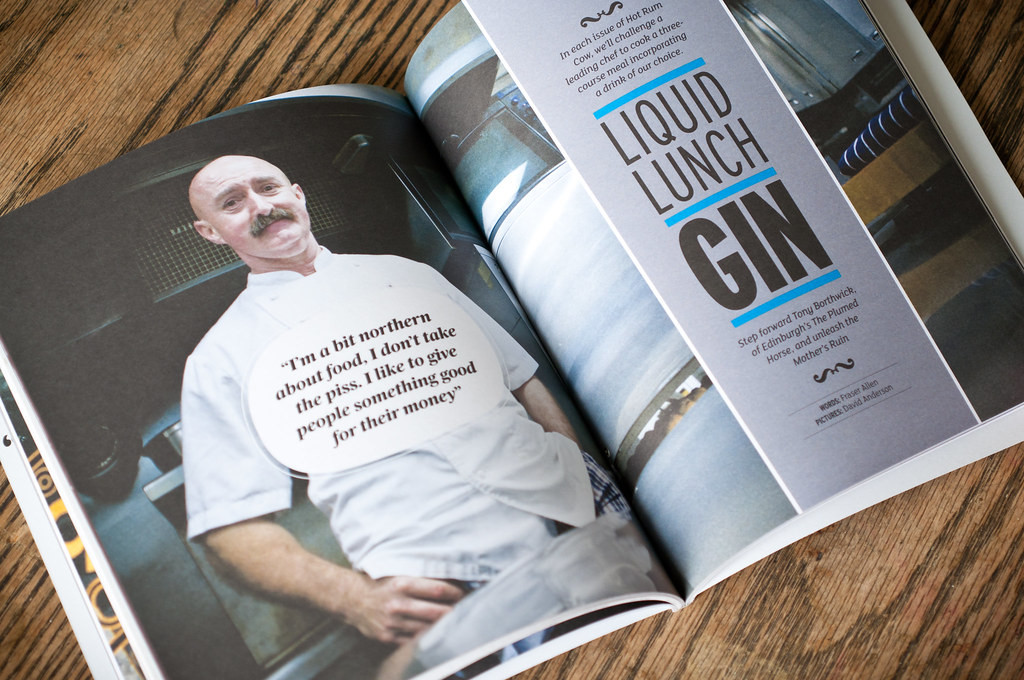 Hot Rum Cow | Issue 1 – The Gin Issue. Please re-use these i ...